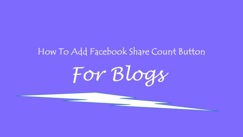faceboook share button
