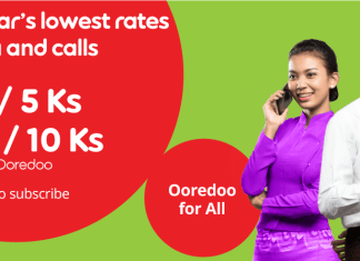 Ooredoo Data Plan Myanmar Cheapest telenor MPT