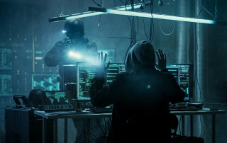 Armed Special Cybersecurity Forces Soldier Arrests Hacker.