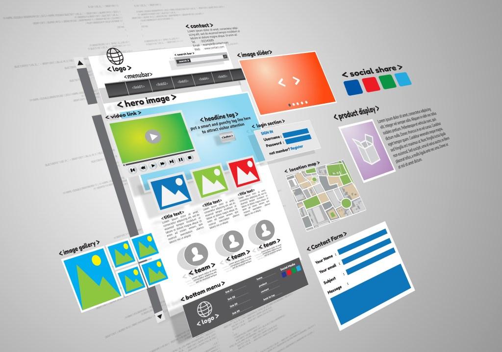 Website design, development project conceptualization.