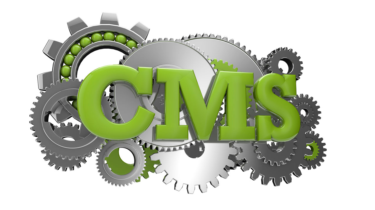 website designs, content management systems