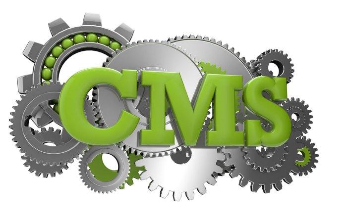website designs, content management systems