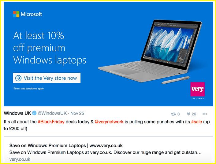 Twitter moments Microsoft