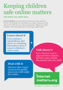 ESafety Leaflets & Resources Internet Matters