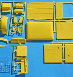 revell peterbilt yellow parts jpg [ 1139 x 900 Pixel ]