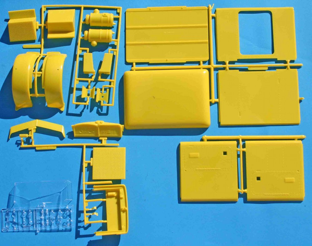 medium resolution of revell peterbilt yellow parts jpg
