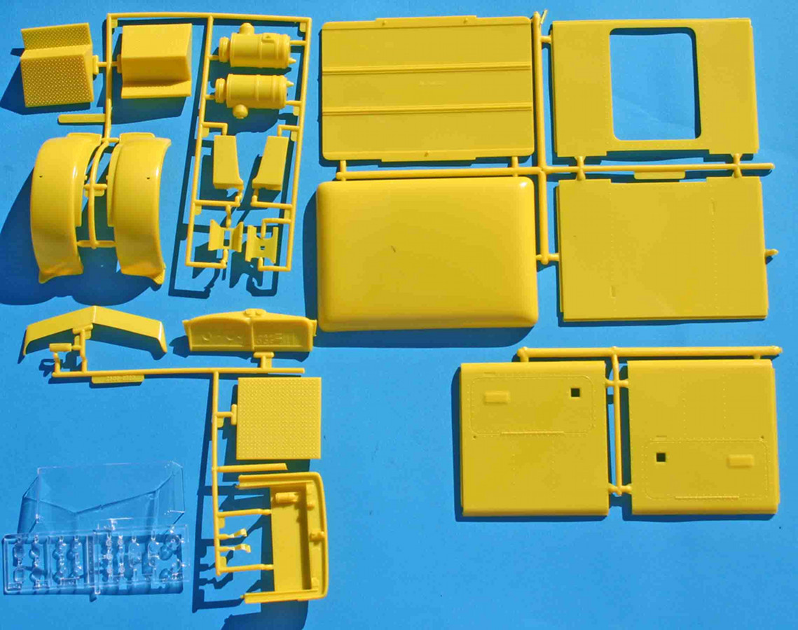 hight resolution of revell peterbilt yellow parts jpg
