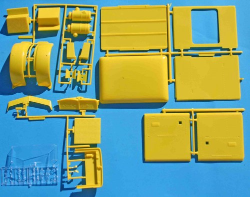 small resolution of revell peterbilt yellow parts jpg