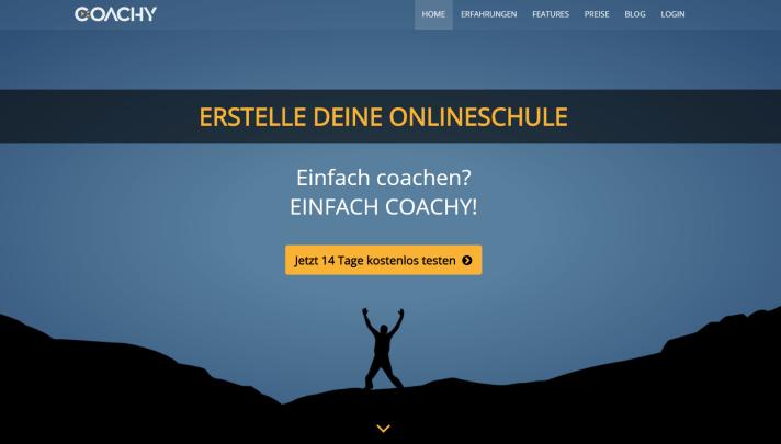 mitgliederbereich erstellen coachy