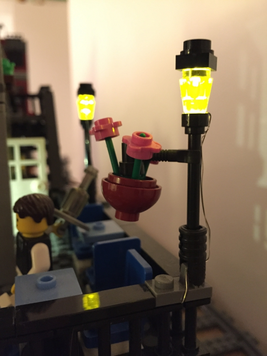 City Lights Wiring And Leds Internet Of Lego