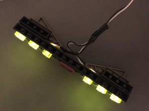 12v LED strip w/ Technic brick