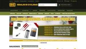 Karinė apranga ir amunicija | ARMIJAI IR CIVILIAMS
