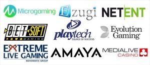 多種ソフトウェア
