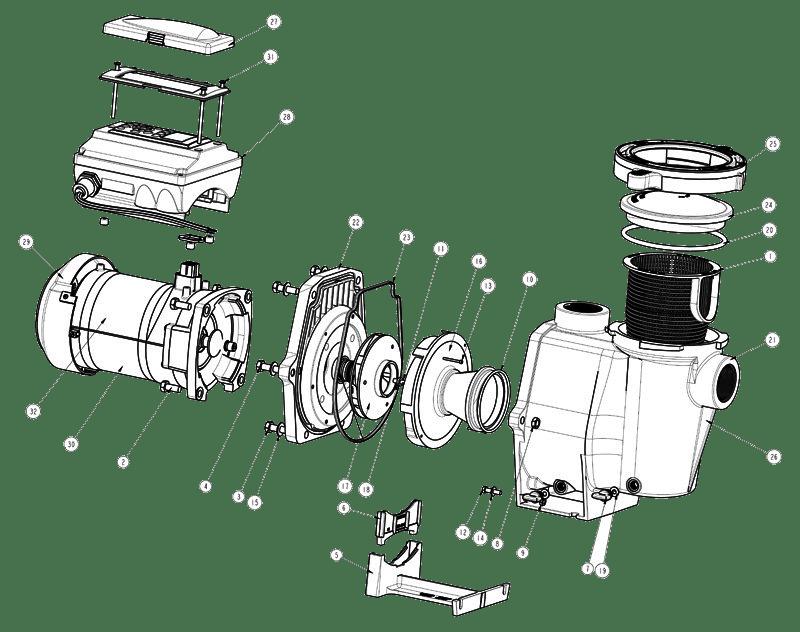 Pentair IntelliFlo i1 Pump Parts