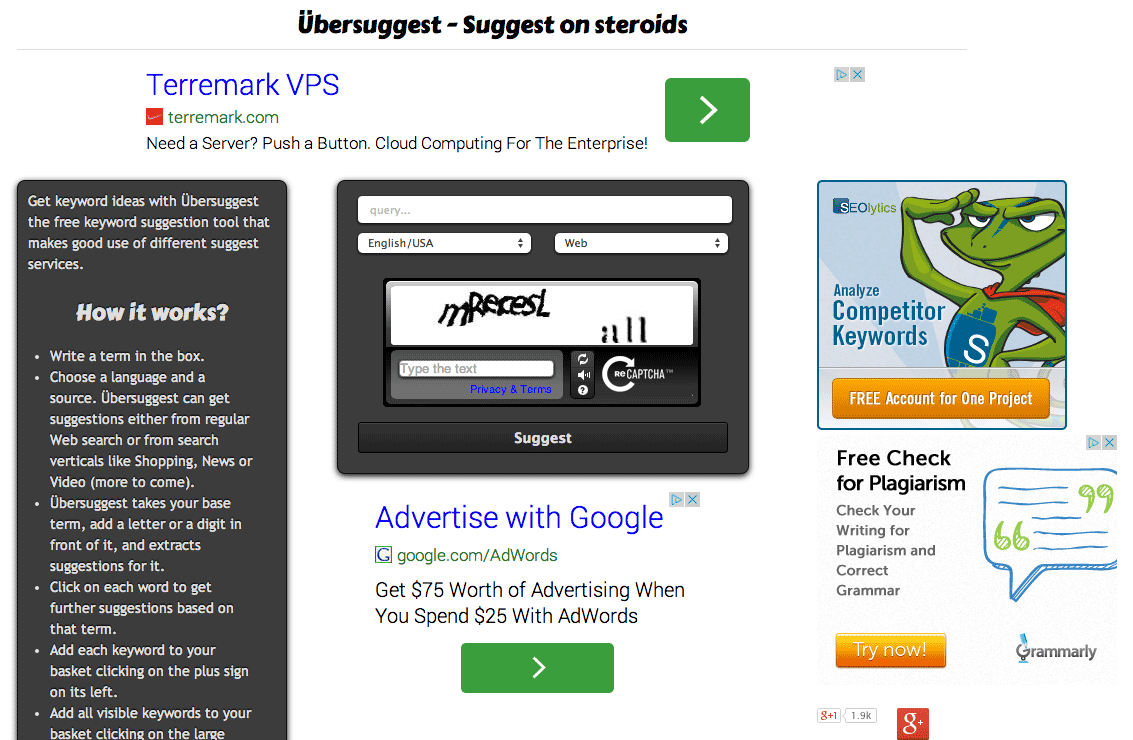 Keyword suggestion tool — Google suggest scraper — Übersuggest 2014-08-11 13-53-48