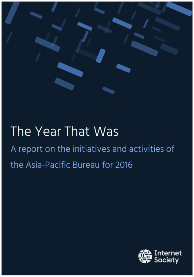 The Year that Was: A report on the initiatives and activities of the Asia-Pacific Bureau for 2016