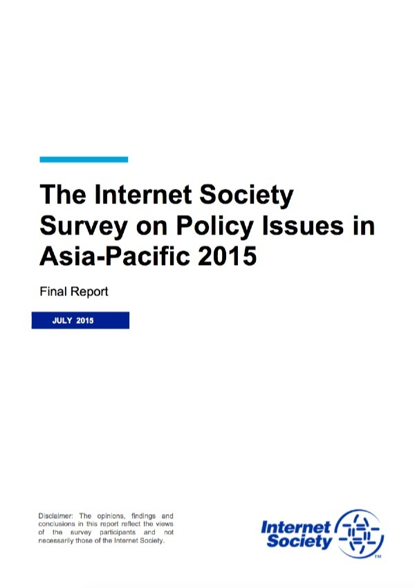 Internet Society Survey on Policy Issues in Asia-Pacific