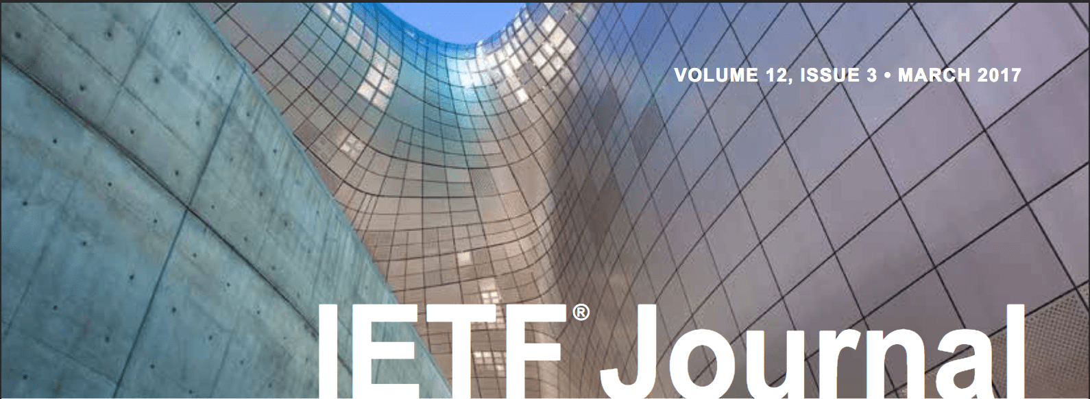 IETF Journal Volume 12, Issue 3 Now Online