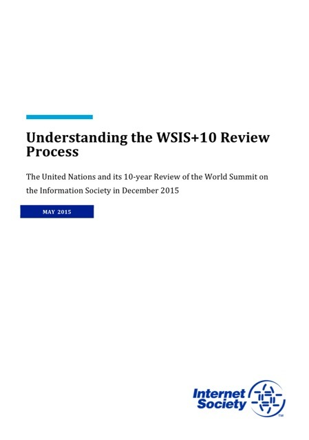 Understanding the WSIS+10 Review Process
