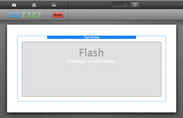 Why embed Flash
