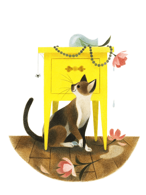 cat Illustrations by Genevieve Godbout