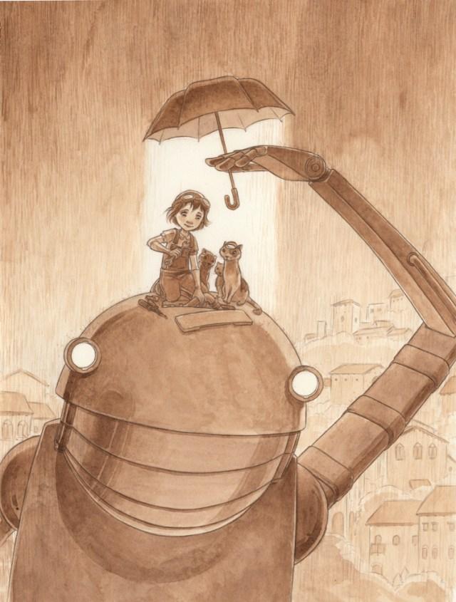 Illustration by Sarah Mensinga robot