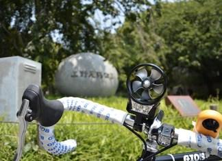 The Wind Powered Bike Light.