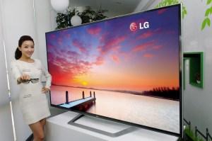biggest plasma television