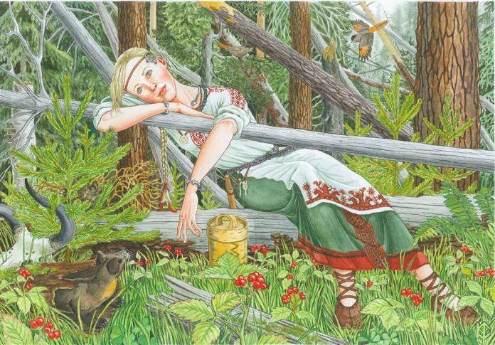 watercolor landscape painting