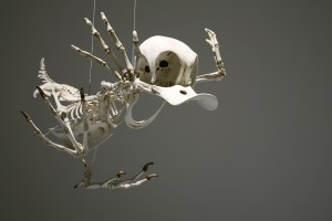 Artificial cartoon-character skeletons