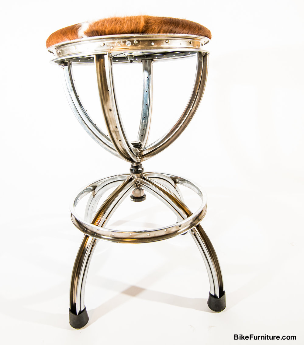 Furniture That Is Made From Old Bicycles
