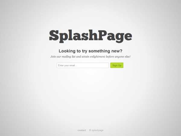 How to Convince a Client They Don't Need a Splash Page