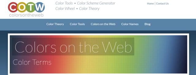 color palette inspiration boards