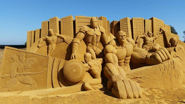 beach sand marvel