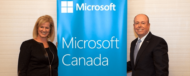 Microsoft sings 'O Canada' amid immigration challenges