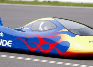 Panasonic batteries to power the fastest car in the world.