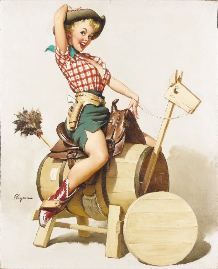Vintage sexy Pin-Up Girl s