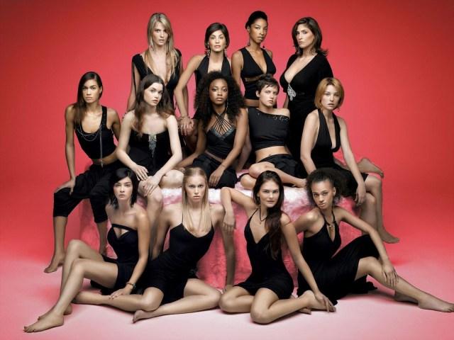 female models America's Next Top Model