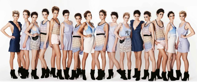 female models America's Next Top Models