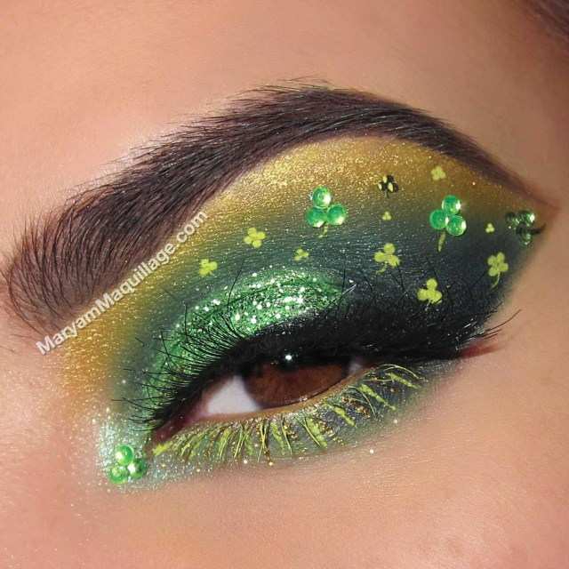 st patricks day makeup ideas