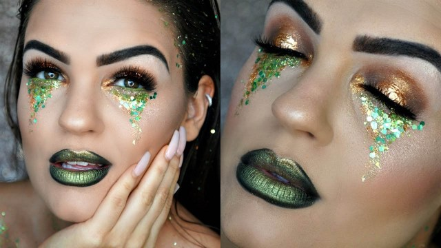 St. Patrick's Day Eye Makeup Ideas
