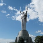 Mother of the Fatherland. Kiev, Ukraine, 62 m