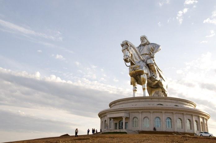 Dschingis-Khan-Denkmal-Mongolei