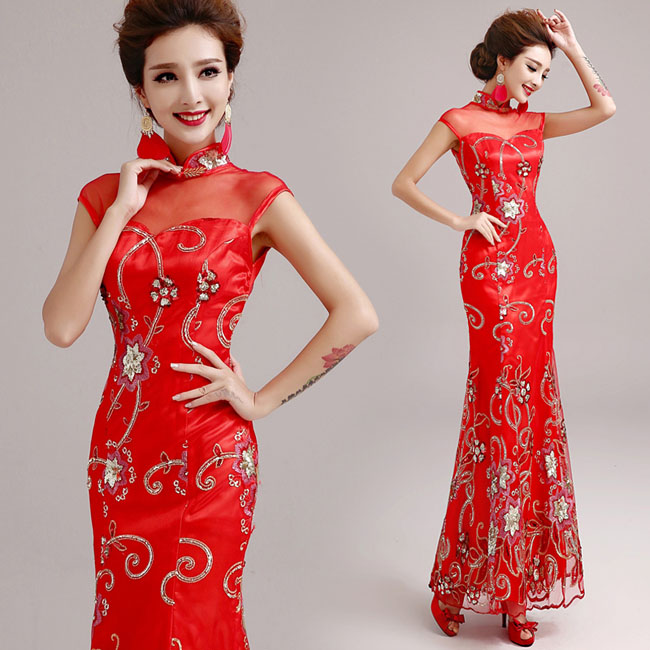 Asian-inspired-mandarin-red-Chinese-dress (1)