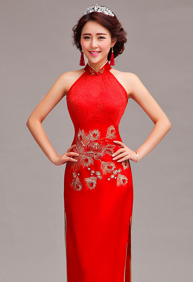 Asian-inspired-mandarin-red-Chinese-dress (2)