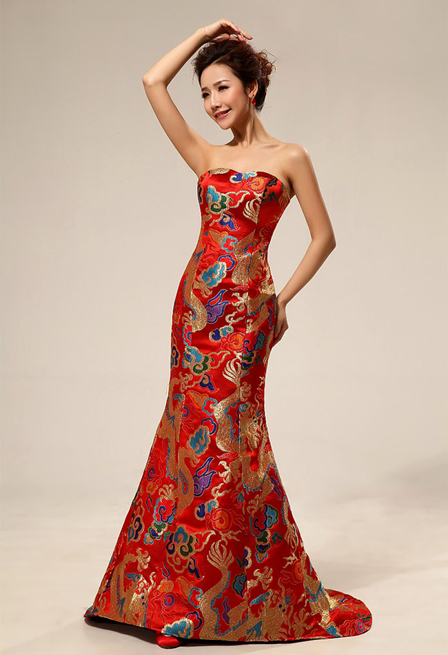 The Collection of Modern Extraordinary Red Dresses Inspired by ...