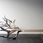 """FallenTree""-bench-from-glass-and-the-remains-of-an-oak"