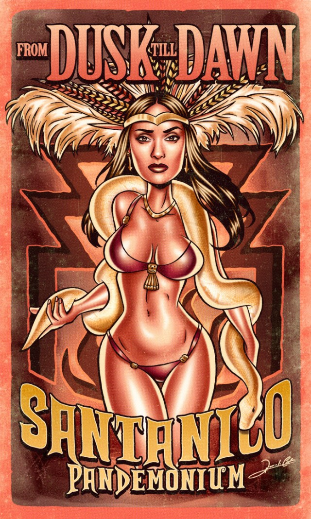 santanico_pandemonium_pinup_Pin_Up_Movie_Posters
