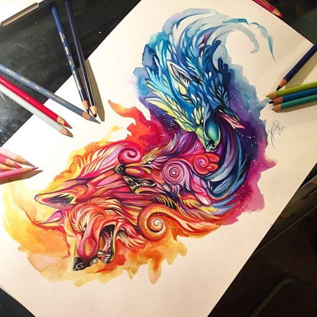 Pencil_Marker_Animal_illustrations_By_Katy_Lipscomb (2)