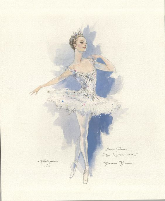 Paintings and Illustrations of Ballet Dancers (6)